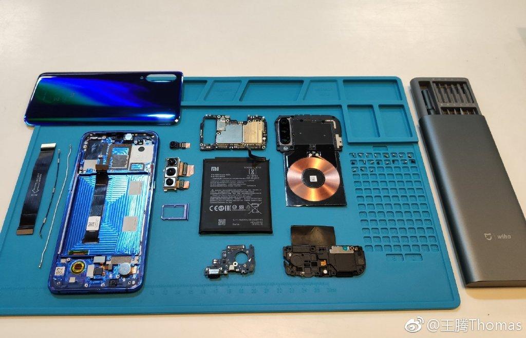 小米9 小米9拆机 小米9手机 小米 小米9拆解