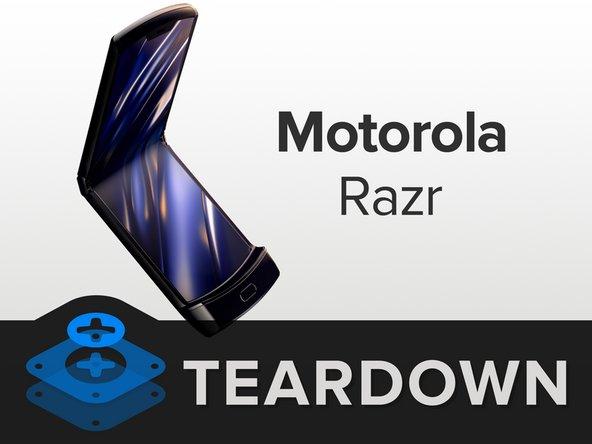 摩托罗拉Razr 竖屏折叠机