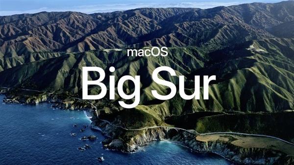 macOS Big Sur 苹果 操作系统
