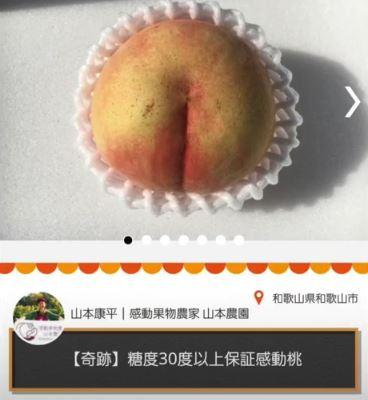 《【沐鸣娱乐网站】日本男子网售7万元桃子:每年仅一颗 网友:吃完长生不老吗》