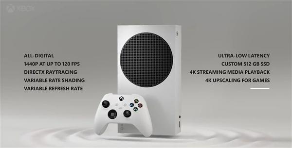 《【沐鸣娱乐网站】Xbox Series S规格曝光:支持2K 120Hz游戏+光追、无光驱设计》