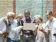 中老年人上网 老年人市场 内容创业