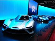 蔚来ES8电动汽车 蔚来汽车 蔚来ES8电动汽车召回