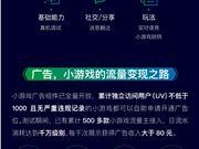微信小游戏百天快乐 已发布超过2000款