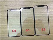 2018三款新iPhone钢化膜曝光:清一色刘海屏