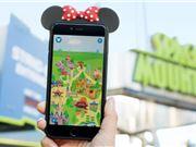 迪士尼给游客们推出了一款排队专用AR手游