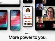 苹果发布iOS 12 GM版:9月18日正式推送