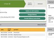 首批iPhone Xs/Xs Max/四代AW订单开始发货 美国用户可在UPS上查询