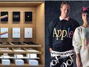 向经典致敬:苹果总部游客中心上架新款T恤