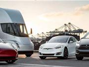 特斯拉 电动汽车 自动驾驶