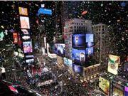 无人机 纽约 时代广场