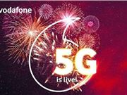 沃达丰 5G频谱 5G运营 5G