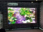 CES 2019 8K电视 可卷曲屏幕 智能电视 客厅