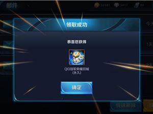王者荣耀 QG冠军荣耀回城特效 获得方法