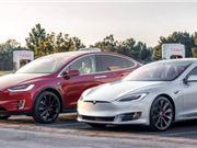 特斯拉 电动汽车 自动驾驶 电池