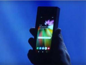 三星手机 三星GalaxyS10 三星GalaxyF 三星可折叠手机
