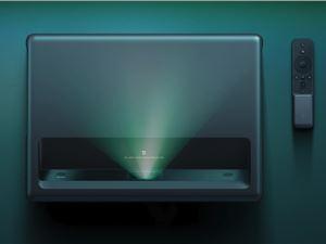 小米发布米家激光投影电视4K版:首发尝鲜价9999元