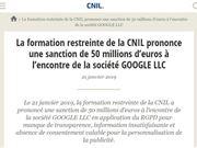 谷歌 GDPR 谷歌罚款 安卓隐私