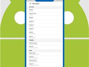 诺基亚 诺基亚系统更新 Android9 AndroidPie