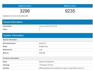 谷歌 骁龙855 谷歌手机 AndroidQ