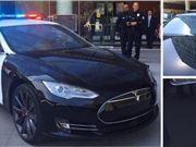 特斯拉 电动汽车 警车 节省能源
