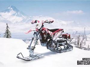 绝地求生刺激战场 轻型雪地摩托 性能