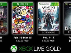 Xbox金会员 2月会免游戏