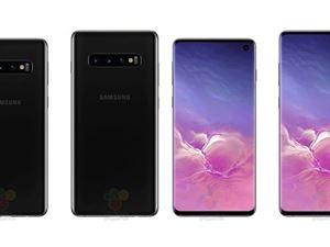 三星Galaxy S10系列官方定妆照曝光:三镜头 + 挖孔屏
