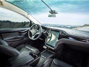 自动驾驶 特斯拉 Model X