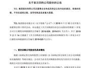 TCL回购股份 TCL集团回购股份 TCL集团 TCL回购6100万股份 TCL