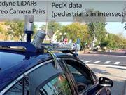 无人车 自动驾驶 3D行人姿态