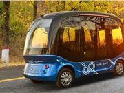美国 奥兰多 无人驾驶巴士 Beep