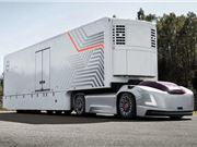 沃尔沃 电动卡车 无噪音 大容量