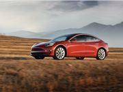 消费者报告杂志 特斯拉 Model 3