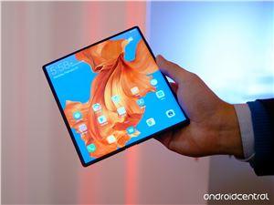 华为 5G 折叠屏手机 HUAWEI Mate X 多图实拍