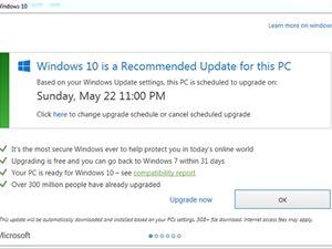 微软出手:给Win7用户推通知?#33945;?#32423;Win10