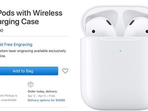 AirPods无线版 苹果 AirPods