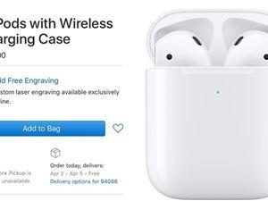 蘋果新款AirPods無線版瘋賣:1599元!