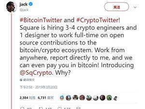 推特CEO 比特币 比特币开发者