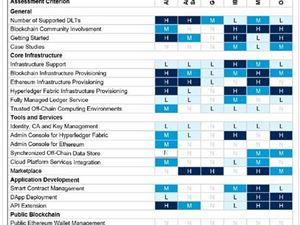 国内唯一 阿里云入选全球区块链云服务报告 领先AWS、Google