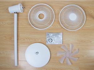 14米送风/柔和软风/仅299元 米家直流变频电风扇1X图赏