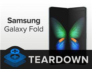 三星 Galaxy Fold 折叠屏手机为什么容易坏?iFixit 拆解给出评价