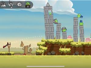 手机游戏 植物大战僵尸 愤怒的小鸟