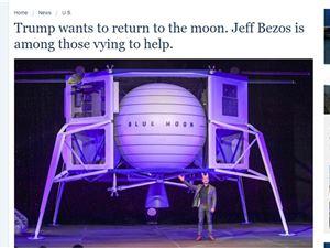 贝佐斯 蓝月飞船