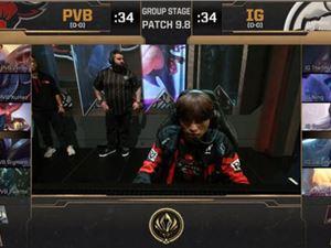 季中賽MSI首日IG贏下PVB和G2,獲得小組兩連勝