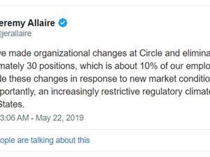 Circle Circle融资 Circle裁员