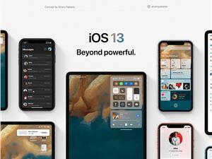 苹果 iOS 13 概念设计图集:加入桌面扩展、深色模式