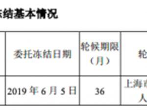 恺英网络冯显超股份新增轮候冻结