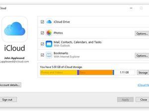 苹果iCloud 微软商店 OneDrive