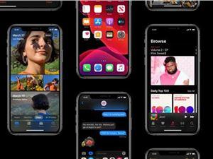 苹果 iOS13 iPadOS